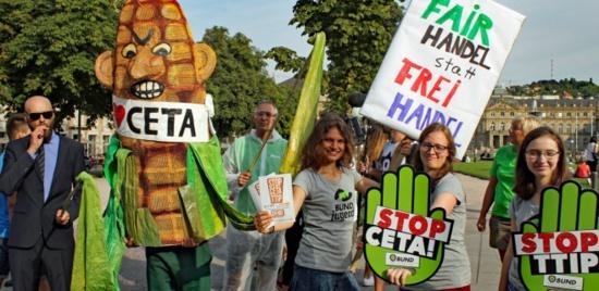 CETA: le PTB appelle les parlementaires à rejeter l'ultimatum