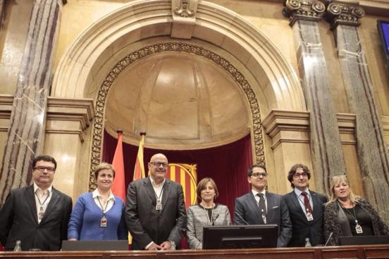 Le bureau du Parlement de Catalogne suspendu par le Tribunal constitutionnel
