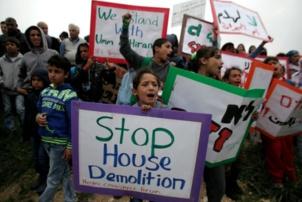 Violences israéliennes contre le député communiste Ayman Odeh (Hadash) et les bédouins du Neguev