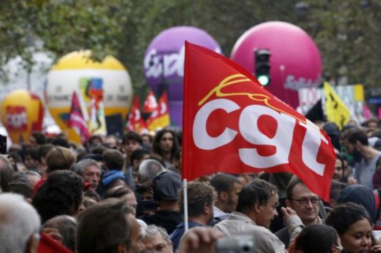 """La CGT """"alerte"""" les travailleurs contre le Front national"""