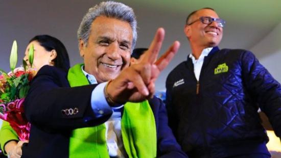 Lenín Moreno élu Président de l'Equateur