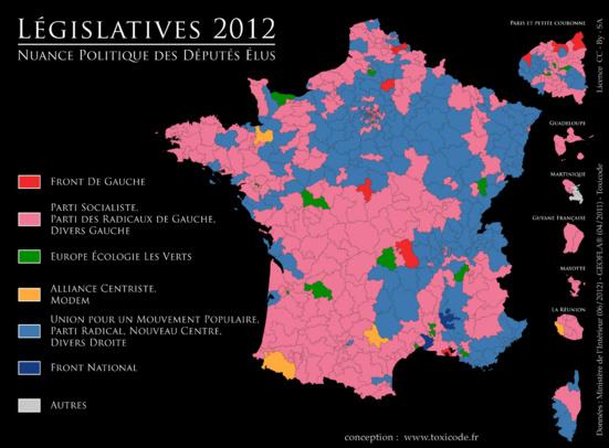 230 circonscriptions gagnables pour la gauche (hors PS)