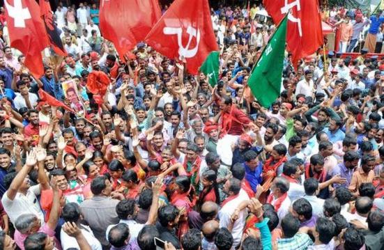 Les communistes triomphent aux élections locales de Mattanur (Kerala)