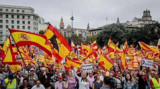 """Le """"jour de l'Hispanité"""" fait (encore) un flop à Barcelone"""