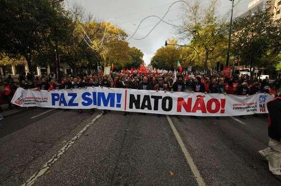 Grande journée de lutte du peuple portugais contre l'OTAN