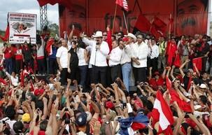 Honduras : Retour du Président Manuel Zelaya