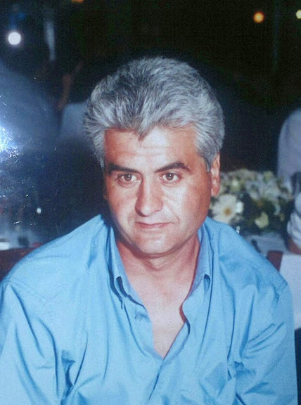 Dimitris Kotzaridis; 53 ans, père de deux filles
