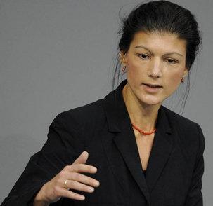 Sahra Wagenknecht pour sauver un