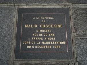 Ni pardon, ni oubli : 25e anniversaire de l'assassinat de Malik Oussekine