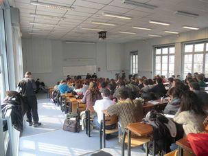 Un évènement à l'université de Lyon : 200 jeunes communistes discutent du socialisme