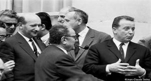 Henri Krasucki, Benoit Frachon et Georges Séguy