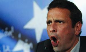 Venezuela : Des deputes de l'opposition denoncent un plan de destabilisation et retirent leur soutien a Capriles