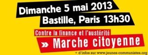 Le 1er mai, le 5 mai, la rue est à nous !