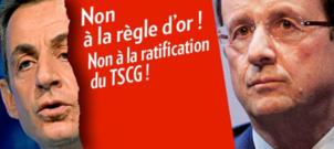 """Hollande: """"la Commission n'a pas à nous dicter ce que nous avons à faire"""" ... Avec le TSCG voté par le PS elle le peut"""