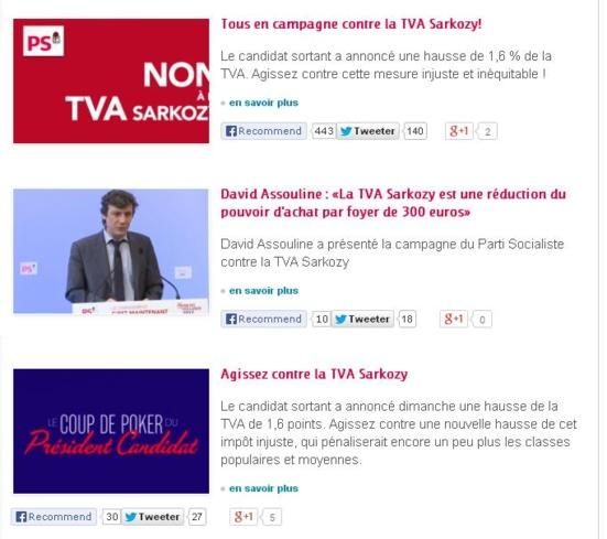 La campagne du PS (2012)