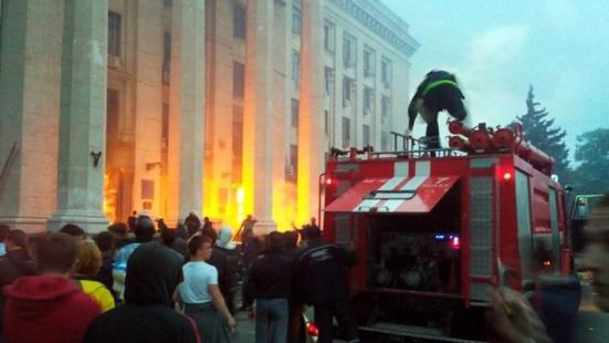 Ukraine 42 personnes sont mortes dans l incendie for Anti incendie maison