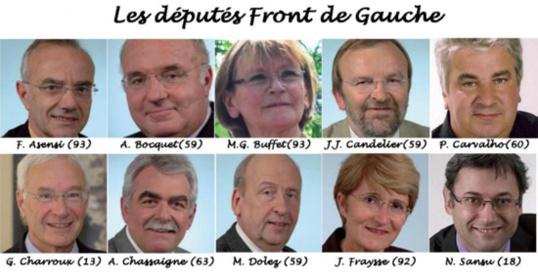 Les parlementaires communistes déterminés à combattre la finance et les politiques d'austérité