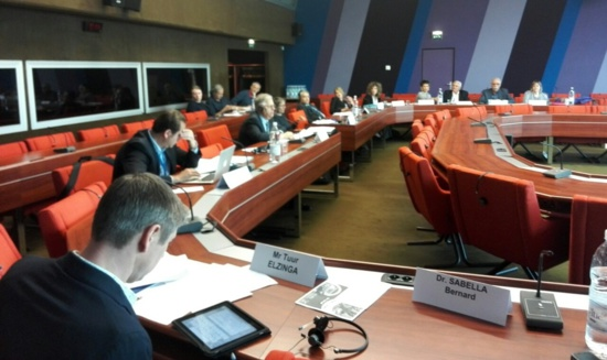 Petro Simonenko (KPU), à Strasbourg, obtient le soutien de la Gauche Unitaire Européenne (GUE)