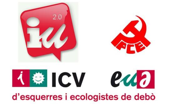 10,45% des voix pour les communistes espagnols (PCE et Izquierda Unida)