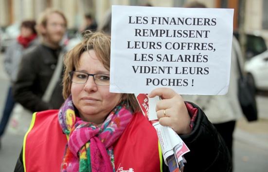 Grève des fonctionnaires: «La plus forte mobilisation» sous Hollande, selon la CGT