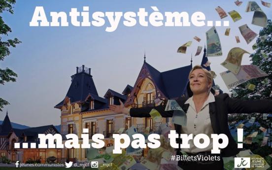 L'opulence immobilière de Marine Le Pen épinglée par « Le Canard enchaîné »