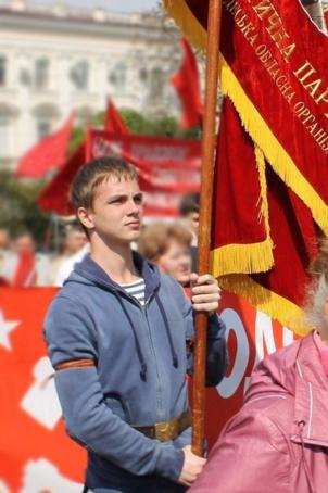 La France découvre Vadim Papura, ce jeune communiste assassiné à Odessa