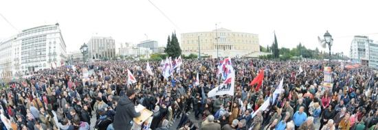 La Grèce en grève générale contre le plan de retraites de Tsipras