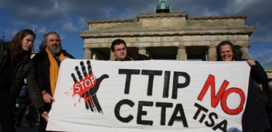 TTIP/TAFTA : Droite et socialistes votent la commercialisation du secteur des services