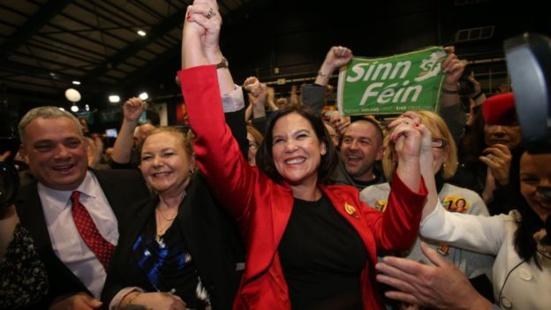 Irlande (EIRE) : 13,85% des voix pour les républicains du Sinn Féin