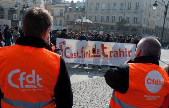 Loi El Khomri: «Nous sommes des militants CFDT mais nous manifesterons le 31 mars»