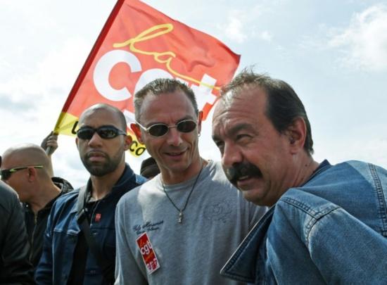Philippe Martinez (CGT) dénonce le «chantage» de Total
