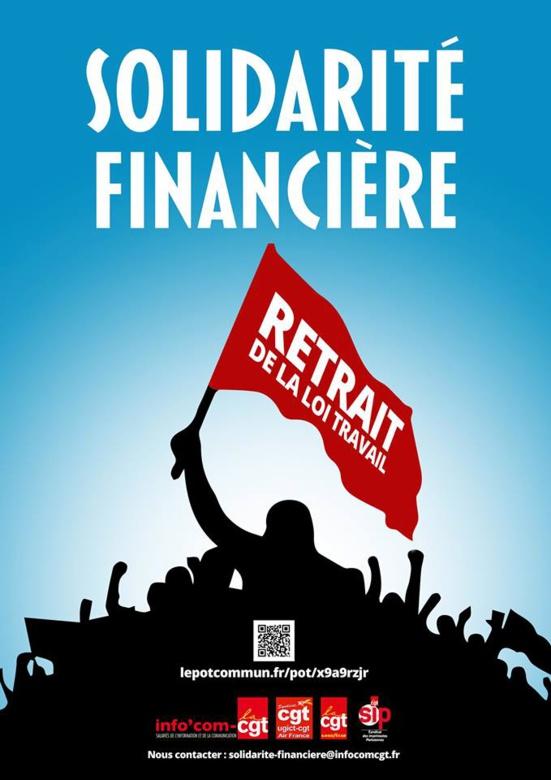 La cagnotte de grève de la CGT a dépassé les 367.770 euros