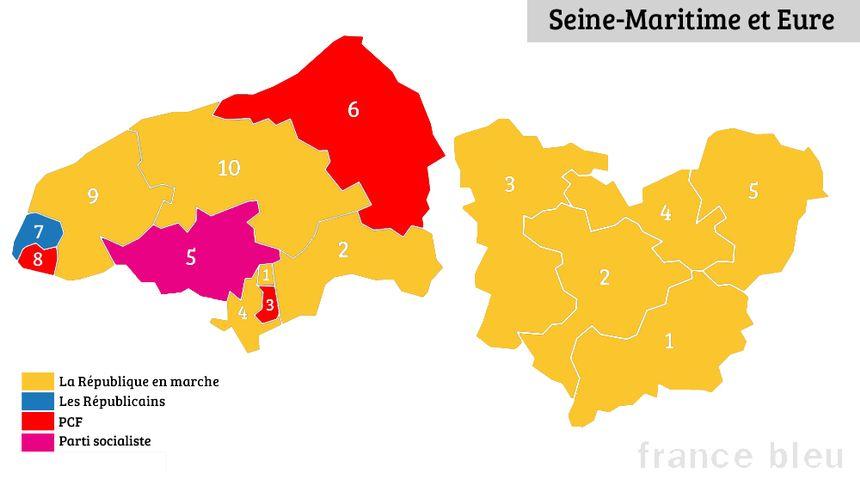 Trois communistes sont élus députés en Seine-Maritime