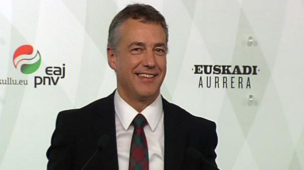 Le président basque appelle Madrid à reconnaître les nations catalane et basque