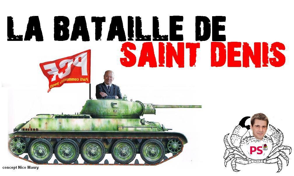 Quot Les Communistes 231 A Suffit Quot La Sale Campagne D Hanotin Ps 224 Saint Denis