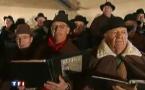 La chorale provençale d'Istres en Provence chante Noël sur TF1