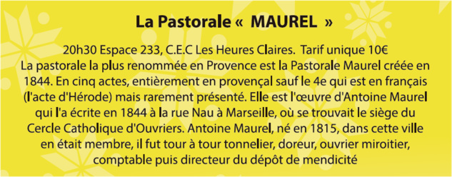 La pastorale Maurel