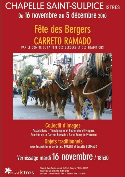 Exposition Fête des Bergers: CARRETO RAMADO