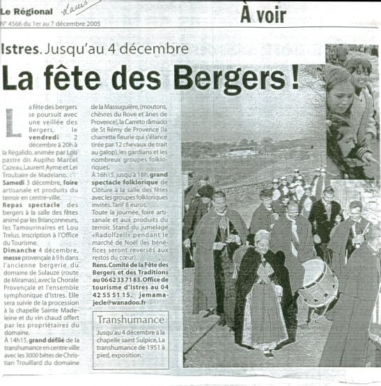 Article Régional 04 déc. 2006