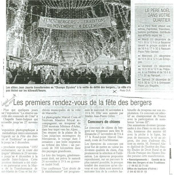 Sur les allées Jean Jaurès