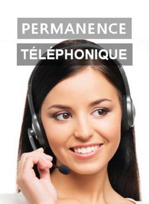Permanence téléphonique à partir de 37 euros/mois
