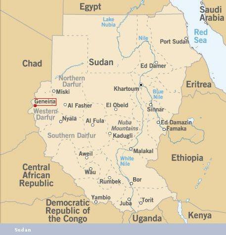 Darfour: Les rebelles soudanais menacent la ville d'Eljeneina