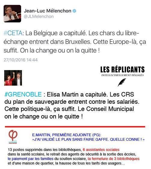 Grenoble : Elisa Martin (PG) a sanctionné les deux co-secrétaires départementaux du parti opposés au plan de casse du service public