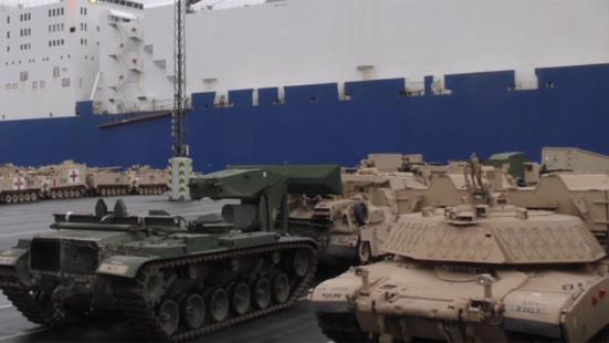 Stop au déploiement de l'armée américaine et au soutien logistique de la Bundeswehr ! (Die Linke)