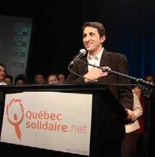 Le Quebec fait entrer pour la première fois un député, soutenu par le Parti Communiste, dans son Assemblée