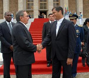 Ce peuple merveilleux, le peuple cubain, peuple héroïque, a montré au monde que la Révolution a un destin