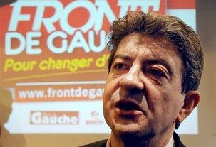"""Européennes: le vote PS, un """"vote inutile"""" pour Mélenchon"""