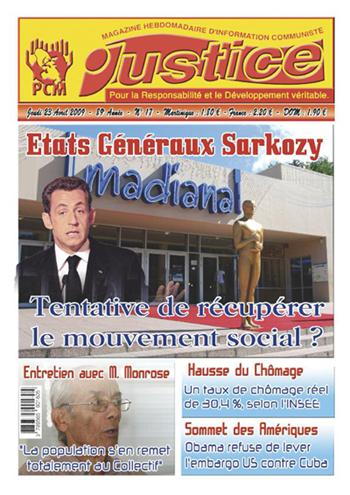 Etats généraux Sarkozy : Une tentative de récupération du mouvement social ?