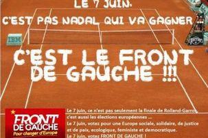 Sondage européennes : 7% pour le Front de Gauche