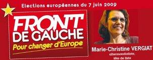 Circonscription Sud-Est : Marie-Christine Vergiat élue Députée européen